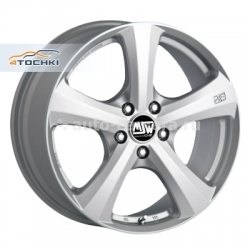 Диск MSW 6,5x15 4x100 ET38 D63,4 19 Full Silver