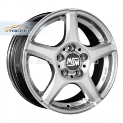 Диск MSW 7x16 5x100 ET38 D63,4 14 Full Silver