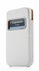 Набор чехлов для iPhone 5 / 5S Capdase ID Pocket Value Set Xpose Dot + Luxe XL, цвет white (DPIH5-V622)