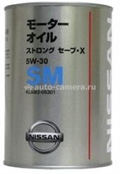 Масло Nissan 5W-30 Strong Save-X KLAM3-05301, 1л