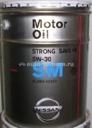 Масло Nissan 5W-30 Strong Save-X KLAM305302, 20л