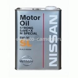 Масло Nissan 5W-30 Strong Save-X M Special KLAL2-05302, 20л