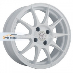 Диск NZ 6x14 4x98 ET35 D58,6 F-27 White
