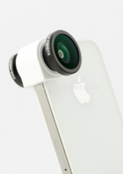 Объектив для iPhone 5 / 5S Olloclip 3 in 1, цвет white
