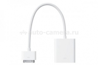 Оригинальный переходник Apple iPad Dock Connector to VGA Adapter (MC552ZM/B)