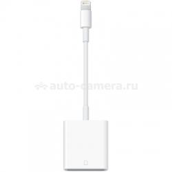 Оригинальный переходник Apple Lightning - SD Card Camera Reader (MD822ZM/A)