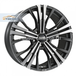 Диск OZ 10x19 5x112 ET32 D76 Cortina Matt Dark Graphite D.C.