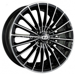 Диск OZ 6,5x15 4x108 ET18 D75 35 Anniversary Black + Diamond Cut