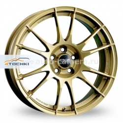 Диск OZ 7,5x17 5x100 ET48 D68 Ultraleggera Race Gold