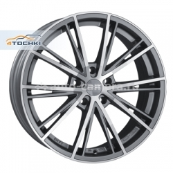 Диск OZ 7,5x17 5x108 ET45 D75 Envy Matt Graphite Diamond Cut
