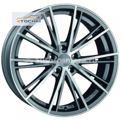 Диск OZ 7x15 4x100 ET37 D68 Envy Silver Tech
