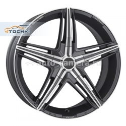 Диск OZ 7x17 4x100 ET37 D68 David Matt Graphite Diamond Cut