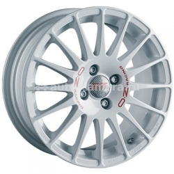 Диск OZ 7x17 4x100 ET40 D68 Superturismo WRC White + Red Lettering