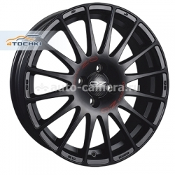 Диск OZ 7x17 4x108 ET48 D75 Superturismo GT Mat BlackRED