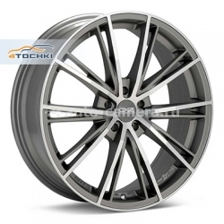 Диск OZ 7x17 4x98 ET37 D68 Envy Matt Silver Tech D.C.