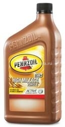 Масло Pennzoil 10W-30 High Mileage Vehicle Motor Oil 071611904421, 0.946л