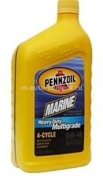 Масло Pennzoil 15W-40 Marine Heavy Duty Multigrade 4-Cycle 071611917452, 0.946л