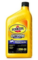 Масло Pennzoil 20W-50 Motorcycle ENGINE OIL 071611938860, 0.946л