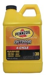 Масло Pennzoil 30 4-Cycle OUTDOOR Motor Oil 071611035873, 1.419л