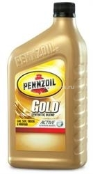 Масло Pennzoil 5W-20 Gold Synthetic Blend Motor Oil 071611914048, 0.946л