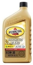 Масло Pennzoil 5W-30 Synthetic Blend Motor Oil 071611015059, 0.946л