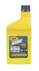 Масло Pennzoil Marine Premium Plus Outboard 2-Cycle 071611938709, 0.473л