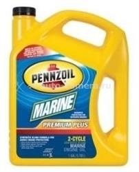 Масло Pennzoil Marine Premium Plus Outboard 2-Cycle 071611938969, 3.785л