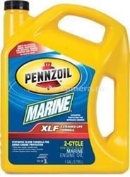 Масло Pennzoil MARINE XLF OUTBOARD 2-CYCLE OIL 071611906944, 3.785л