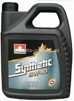Масло Petro-Canada 5W-40 Europe Synthetic 055223000153, 5л