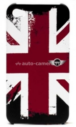 Пластиковый чехол для iPhone 4 и iPhone 4S Mini Hard Cover, цвет Union Jack Rubber (MNHCP4UJRU)