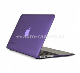 "Пластиковый чехол для Macbook Air 11"" Speck SeeThru Satin, цвет Grape Purple (SPK-A1463)"