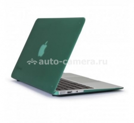 "Пластиковый чехол для Macbook Air 13"" Speck SeeThru Satin, цвет Malachite Green (SPK-A1472)"