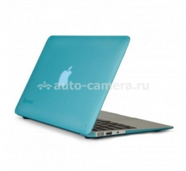 "Пластиковый чехол для Macbook Air 13"" Speck SeeThru Satin, цвет Peacock Blue (SPK-A1473)"