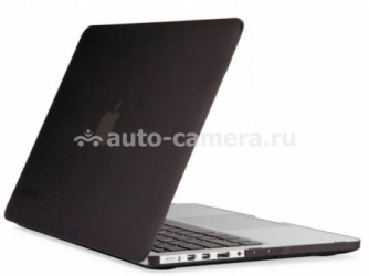 "Пластиковый чехол для MacBook Pro 15"" Retina display Daav HardShell Satin, цвет Black (D-MBPR15-RFC-Black)"