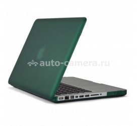 "Пластиковый чехол для Macbook Pro 15"" Speck SeeThru Satin, цвет Malachite Green (SPK-A1492)"