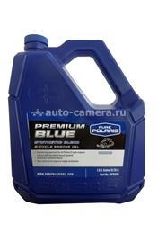Масло Polaris Premium BLUE Synthetic Blend 2-Cycle Enginе Oil 2875036, 3.78л