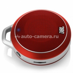 Портативная колонка для iPad, iPhone, Samsung и HTC JBL Micro Wireless, цвет red (JBLMICROWRED)