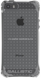 Противоударный чехол для iPhone 5 / 5S Ballistic AGF LS Jewel Series Case, цвет Translucent Clear (JW2570-A535)