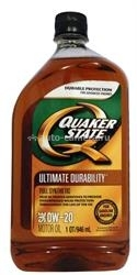 Масло QuakerState 0W-20 Ultimate Durability 550024141, 0.946л