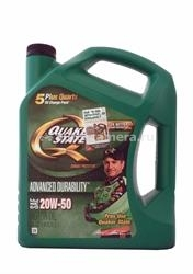Масло QuakerState 20W-50 Advanced Durability 550028524, 4.826л