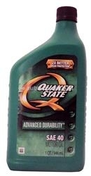Масло QuakerState 40 Advanced Durability 550024108, 0.946л