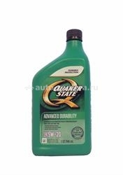 Масло QuakerState 5W-20 Advanced Durability 550024132, 0.946л