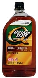 Масло QuakerState 5W-30 Ultimate Durability European 550025171, 0.946л