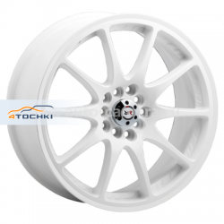 Диск Race Ready 7x16 4x100 ET40 D73,1 CSS154 White