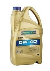Масло Ravenol 0W-40 Super Synthetik Oel SSL 4014835718791, 4л