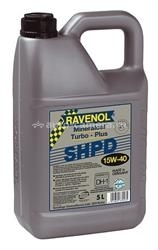 Масло Ravenol 15W-40 Turbo-Plus SHPD 4014835370135, 5л
