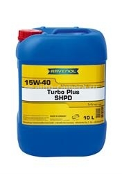 Масло Ravenol 15W-40 Turbo-Plus SHPD 4014835726147, 10л