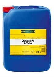 Масло Ravenol Outboard 2T Mineral 4014835728929, 20л