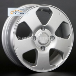 Диск Replay 5,5x14 4x114,3 ET35 D66,1 NS26 Sil (Nissan)
