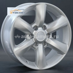 Диск Replay 7,5x18 6x139,7 ET25 D106 TY64 Sil (Toyota)